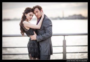 Pier 45 NYC Engagement pictures