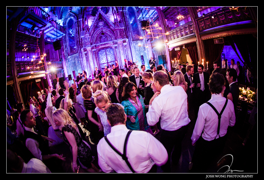 A view from the of Angel Orensanz. Wedding pictures provided by Josh Wong Photography