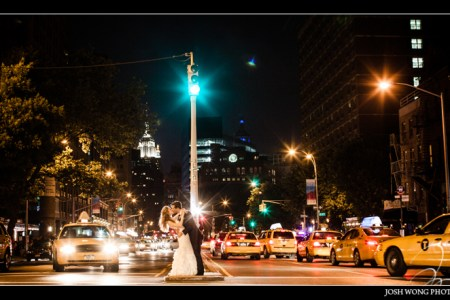 Bowery Hotel Wedding Pictures - A New York City Wedding. photography by Josh Wong Photography