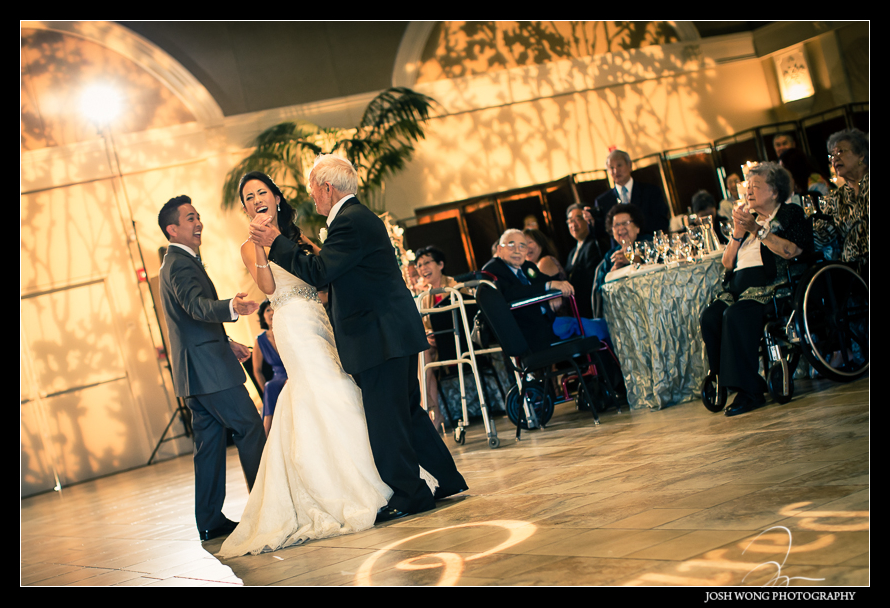 How adorable is this. Jared's Grandfather asked for the second dance immediately after the first dance.