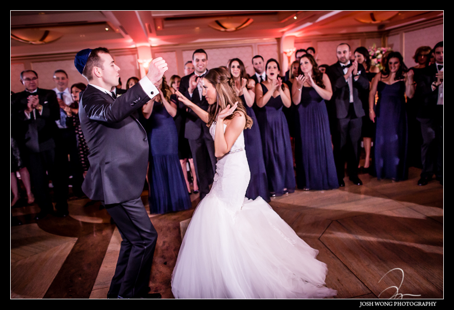 First dance at Glenn Island Harbor Club Wedding New York. Pictures by NYC Wedding Photographer Josh Wong Photography