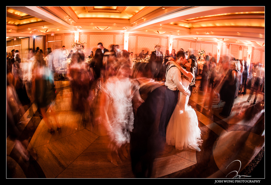 Last shot of the evening. Glenn Island Harbor Club Wedding New York. Pictures by NYC Wedding Photographer Josh Wong Photography