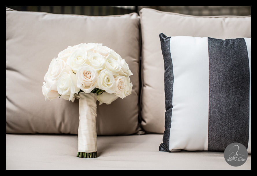 The wedding bouquet.  JW Marriott Essex House Wedding. Wedding Pictures and photos provided by Josh Wong Photography, New York City