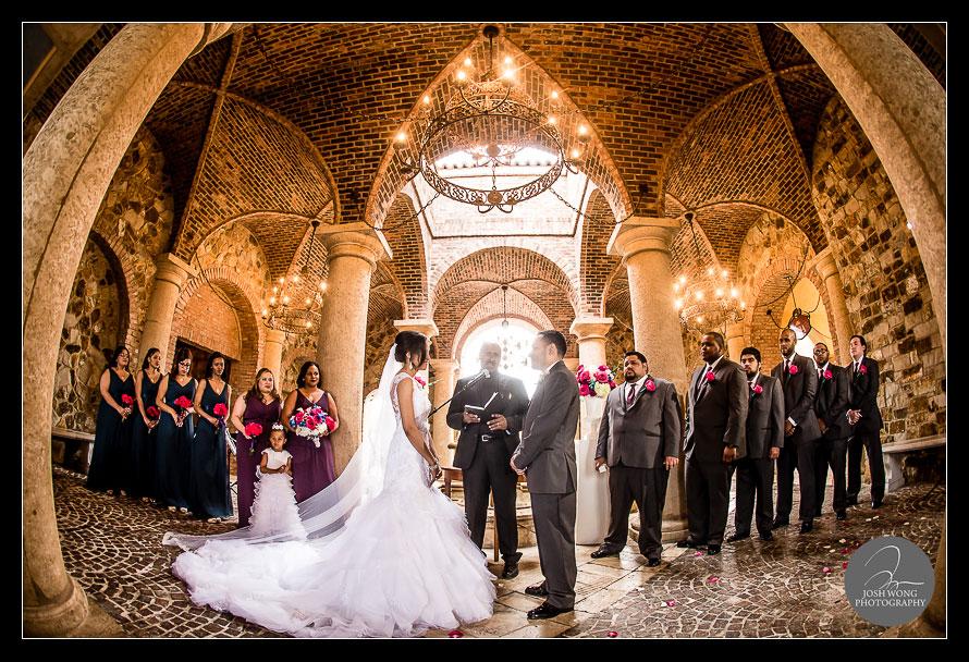 Wedding Ceremony at The Ballroom Veranda in Bella Collina, Orlando Florida