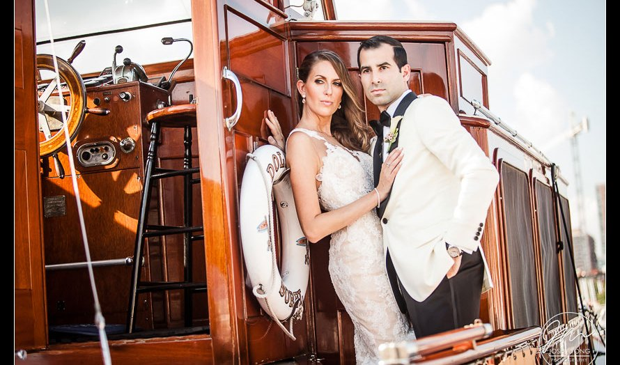 Millennium Hilton New York Downtown and Maritime Parc New Jersey Wedding Pictures by Josh Wong Photography