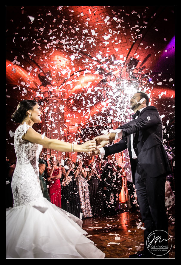 The first dance. Guastavino's New York City Wedding photos. New York Wedding pictures by Armenian wedding photographer Josh Wong Photography