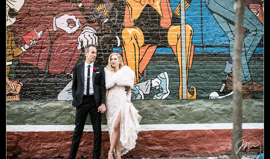 Wythe Hotel and Brooklyn Winery Wedding by Josh Wong Photography | Brooklyn, New York