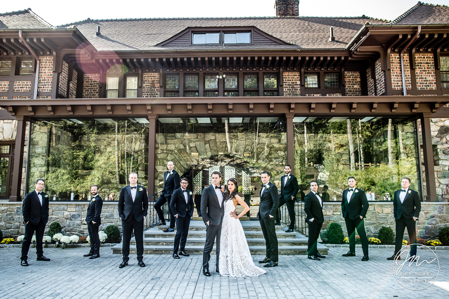The Le Chateau Wedding in South Salem, New York Wedding Pictures by Josh Wong Photography