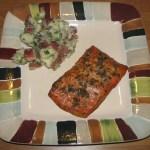 Finished smoked salmon