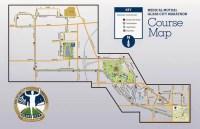 2014 Glass City Marathon Course Map