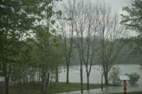 Just a little rain. No big deal.