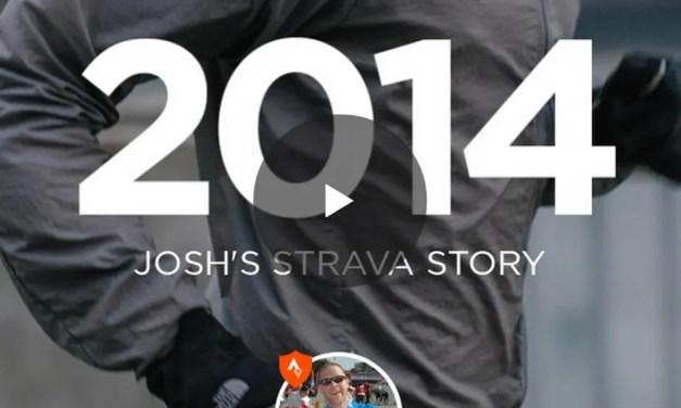 My 2014 Strava Story