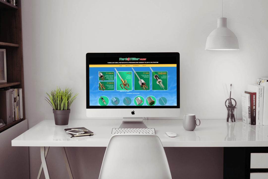 Turbo Tiller Website Design