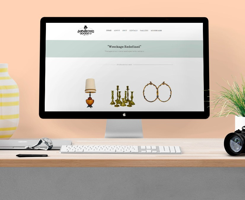 Shipwrecked Goods – Web Design – Logo – Development