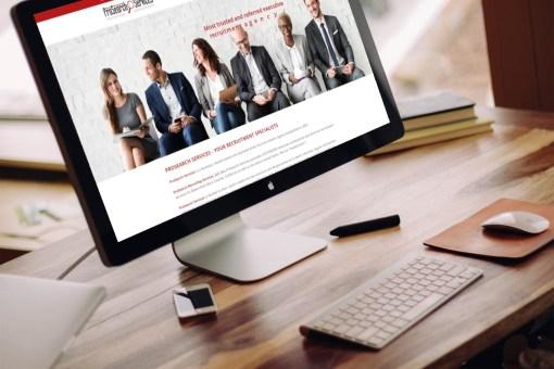 ProSearch Services – Website Design – Development – Logo