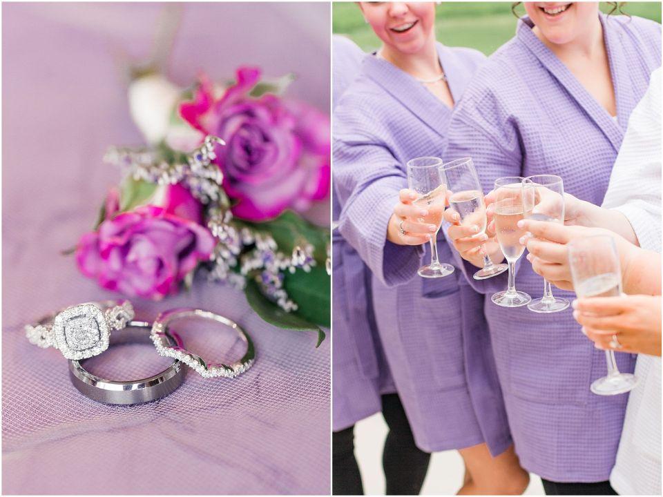 A Classic Lavender & Grey Wedding At Scotland Run in Williamstown, NJ