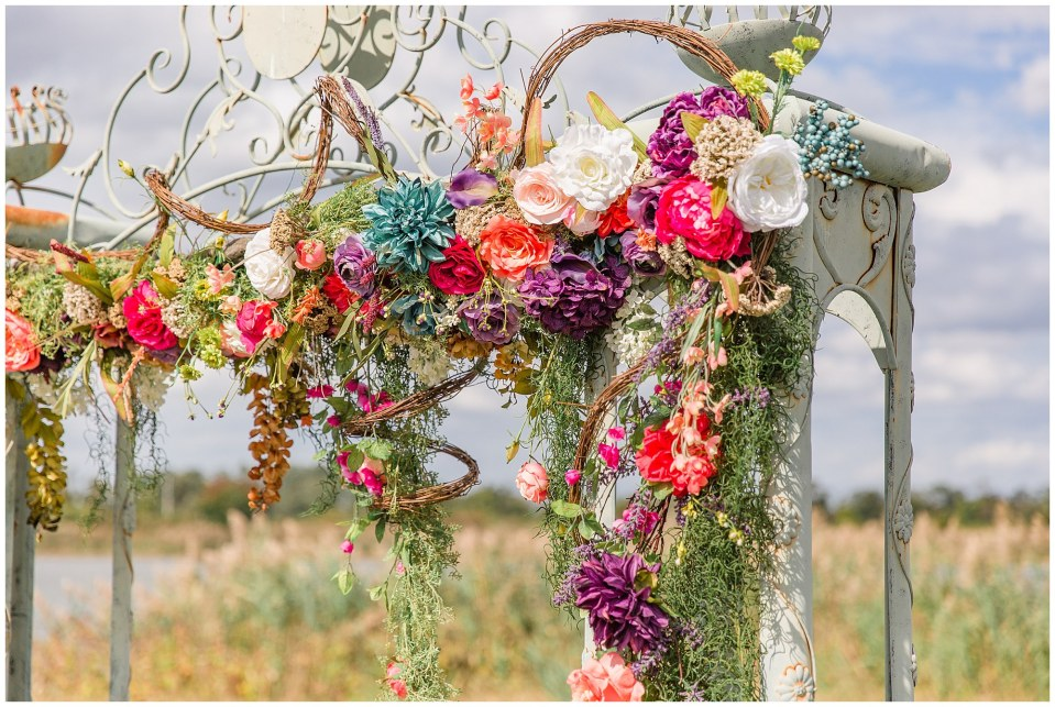 Cody & Hali's Boho Chic Barn Wedding at Thousand Acre Farms in Delaware Photos_0028.jpg