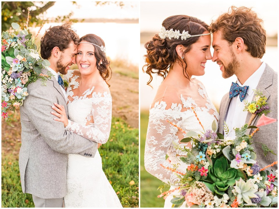 Cody & Hali's Boho Chic Barn Wedding at Thousand Acre Farms in Delaware Photos_0100.jpg