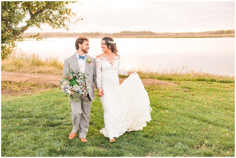 Cody & Hali's Boho Chic Barn Wedding at Thousand Acre Farms in Delaware Photos_0101.jpg