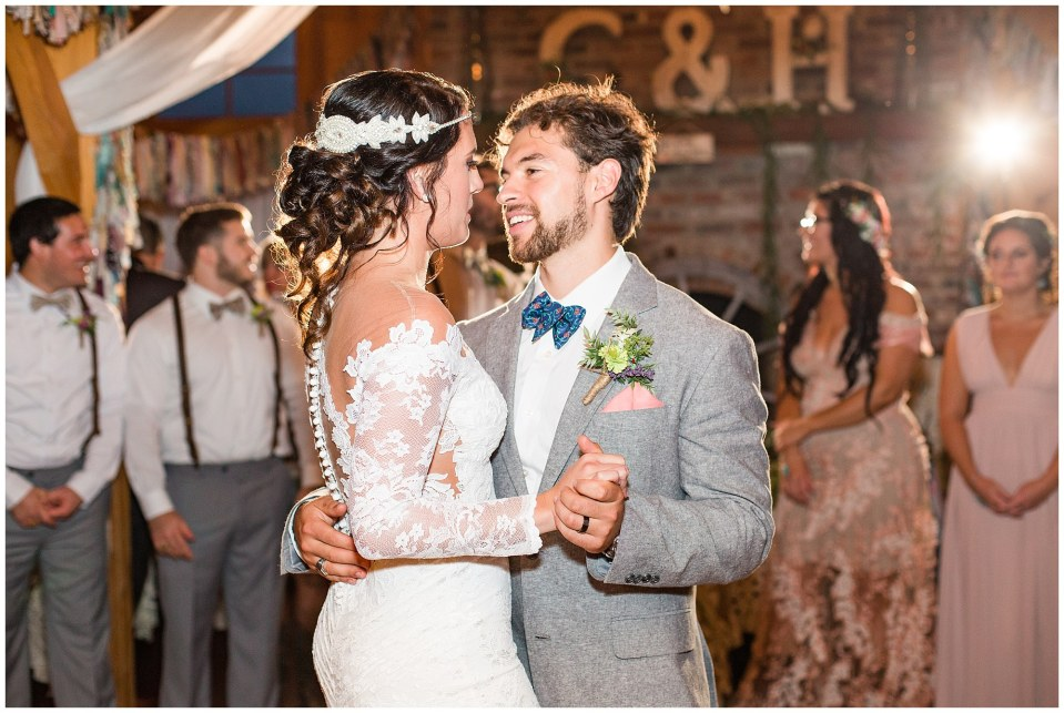 Cody & Hali's Boho Chic Barn Wedding at Thousand Acre Farms in Delaware Photos_0140.jpg