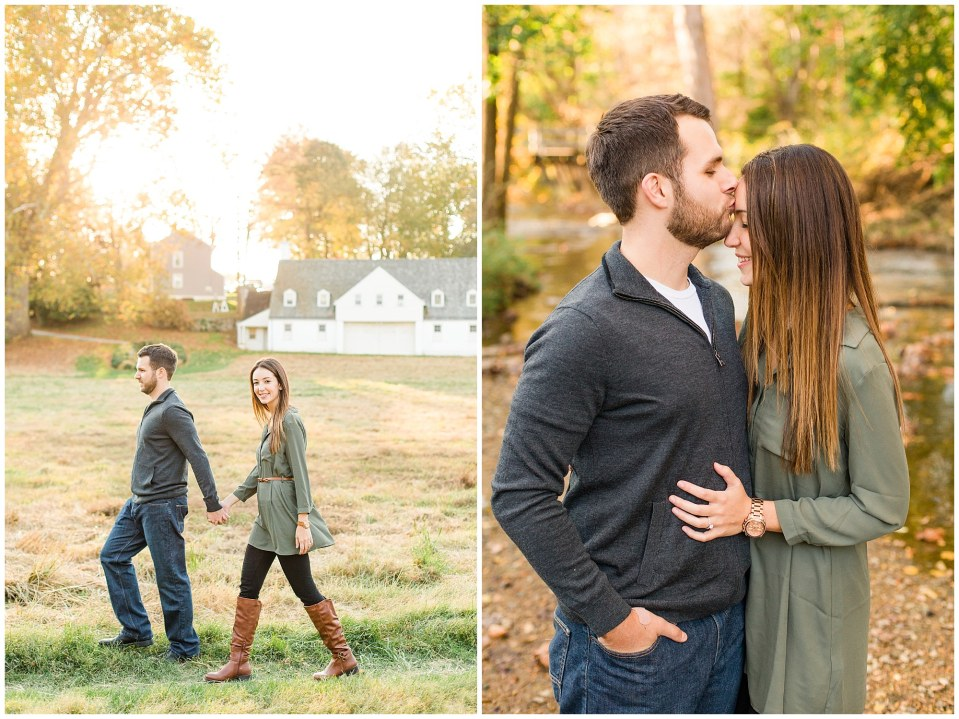 Mike & Jenny's Sunset Fall Engagement at Valley Forge Park and Philadner Chase Knox Estate Photos_0017.jpg
