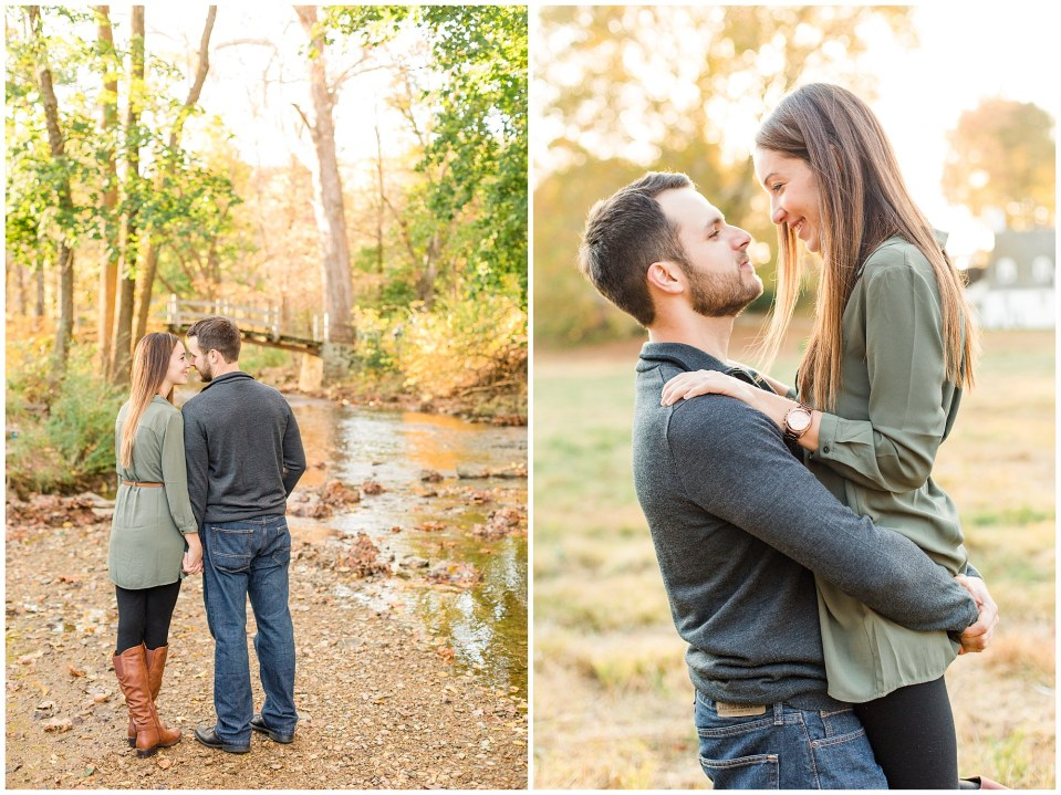 Mike & Jenny's Sunset Fall Engagement at Valley Forge Park and Philadner Chase Knox Estate Photos_0029.jpg