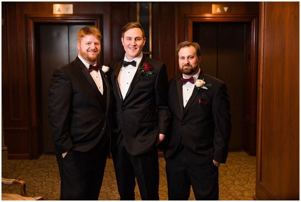 Cooper & Anna's Black Tie & Maroon Wedding at The Hotel DuPont in Wilmington, DE Photos_0018.jpg