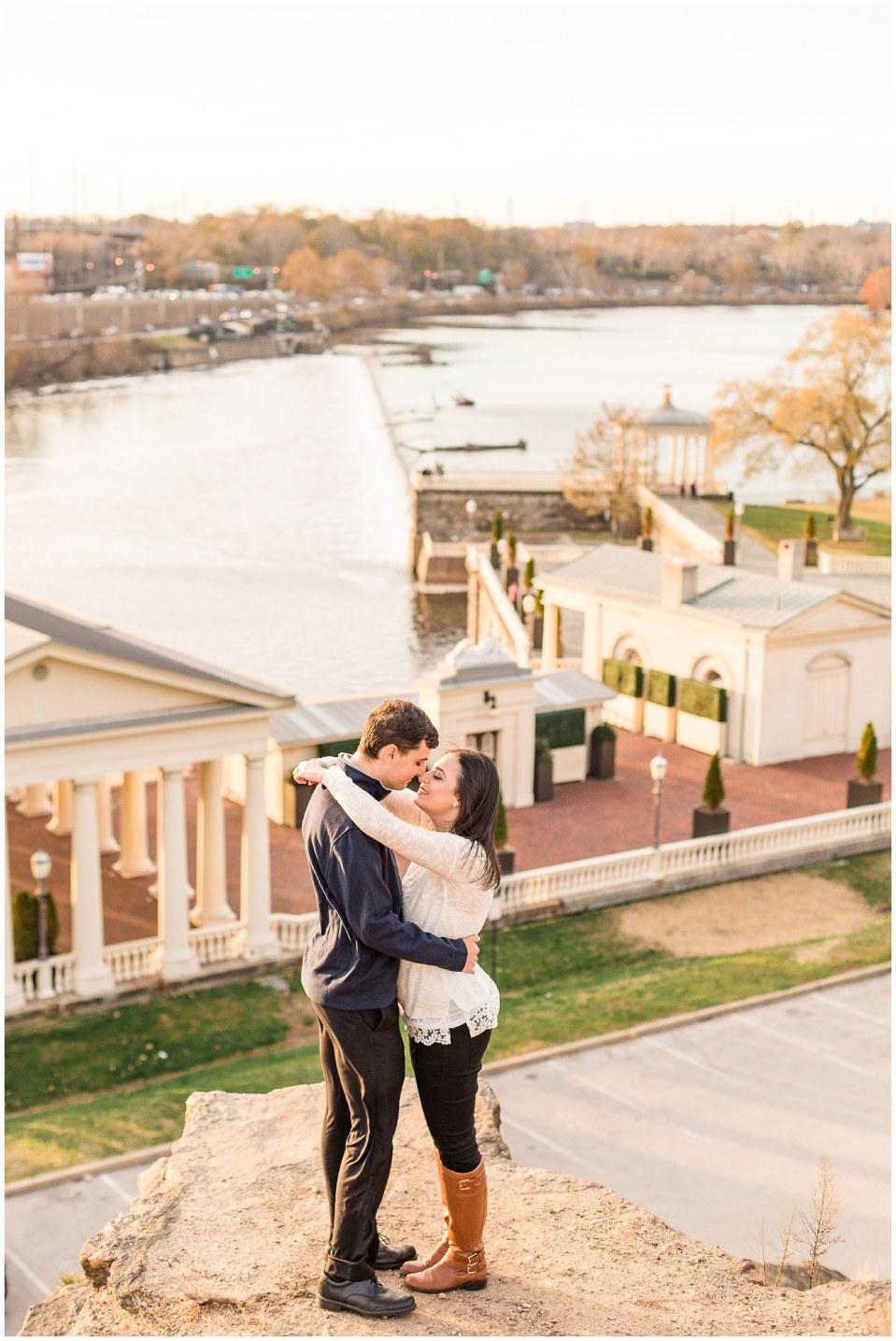 Darren & Elizabeth's November Engagement at Waterworks and Cescaphe Venue in Philadelphia Photos_0022.jpg