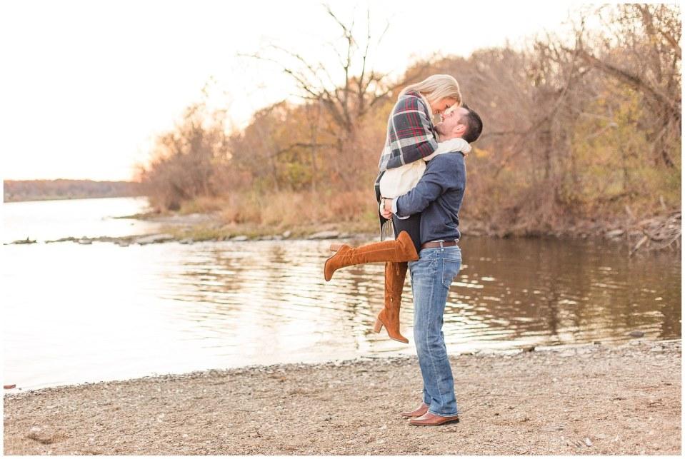 Donovan & Lauren's Winter Engagement at Peace Valley Park in Perkasie, PA Photos_0010.jpg