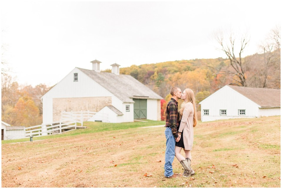 Sheldon & Stephanie's Country Fall Engagement Session at Valley Forge Park Photos_0004.jpg