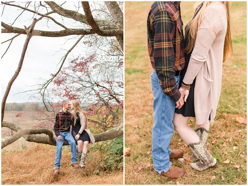 Sheldon & Stephanie's Country Fall Engagement Session at Valley Forge Park Photos_0007.jpg