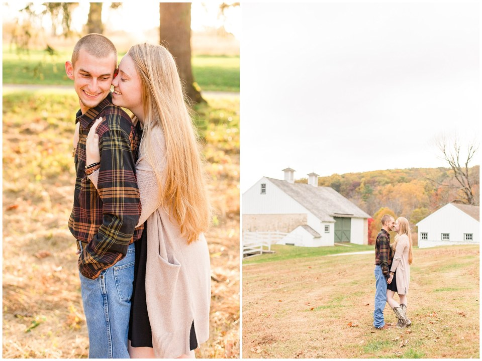 Sheldon & Stephanie's Country Fall Engagement Session at Valley Forge Park Photos_0011.jpg