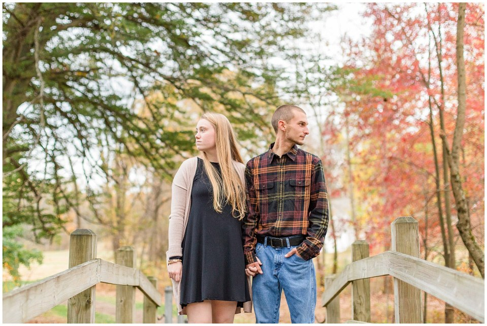 Sheldon & Stephanie's Country Fall Engagement Session at Valley Forge Park Photos_0012.jpg