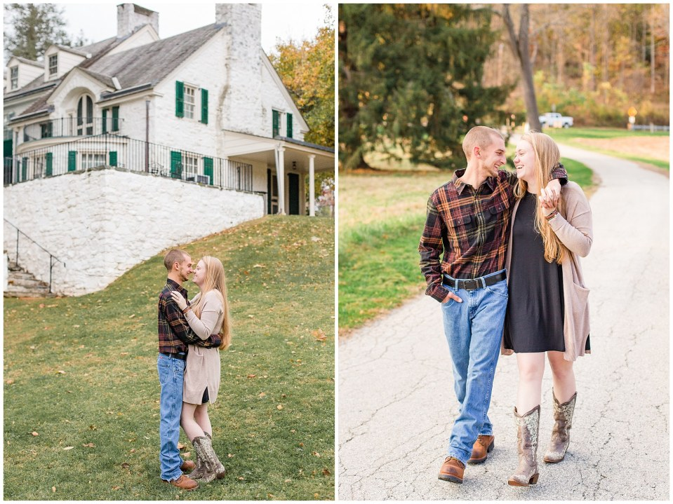 Sheldon & Stephanie's Country Fall Engagement Session at Valley Forge Park Photos_0013.jpg