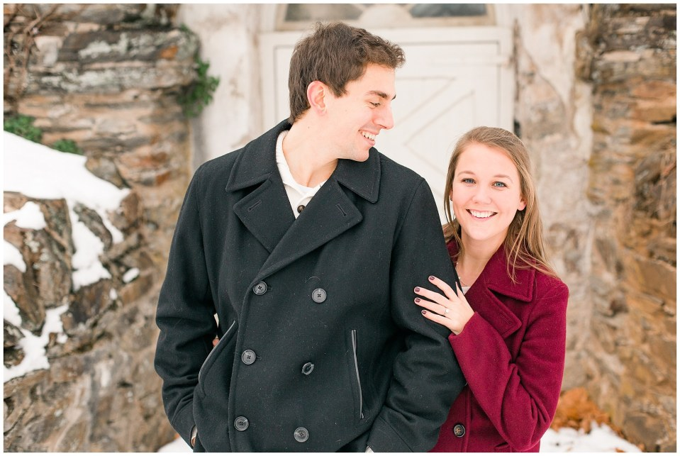 Jackson & Emily's Snowy Engagement Session in Valley Forge Park Photos_0002.jpg