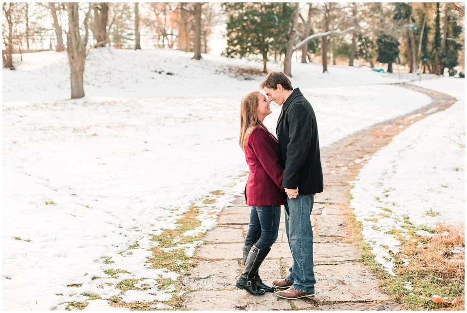 Jackson & Emily's Snowy Engagement Session in Valley Forge Park Photos_0006.jpg