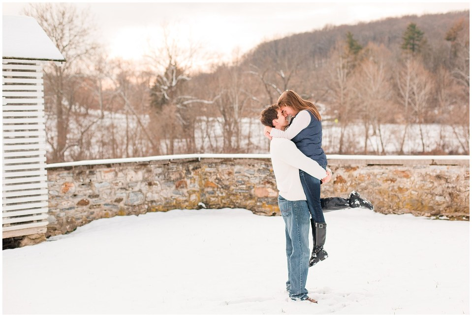 Jackson & Emily's Snowy Engagement Session in Valley Forge Park Photos_0014.jpg