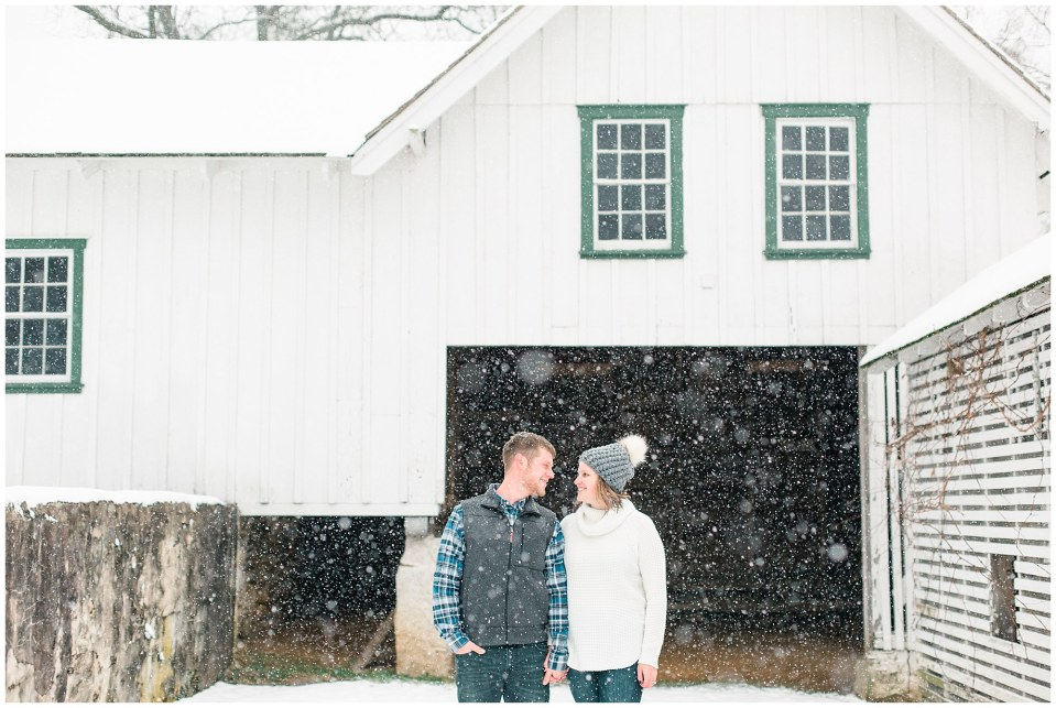 Joseph & Sara's Snow Storm Engagement at Valley Forge National Park in Wayne, PA Photos_0007.jpg