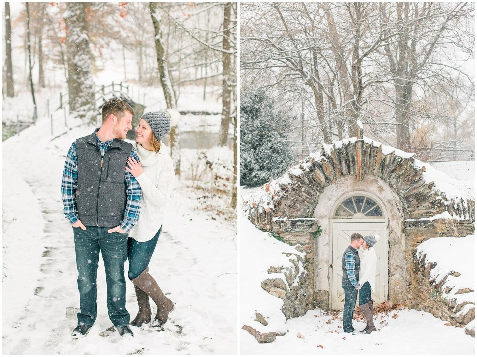 Joseph & Sara's Snow Storm Engagement at Valley Forge National Park in Wayne, PA Photos_0008.jpg