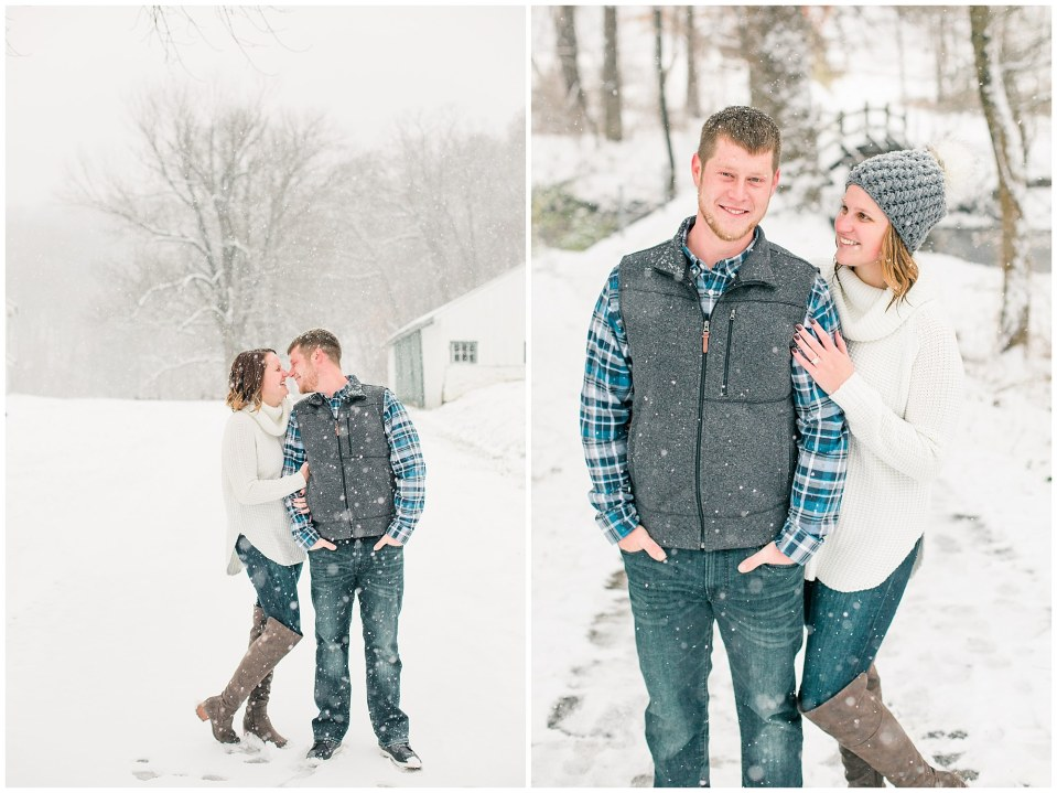 Joseph & Sara's Snow Storm Engagement at Valley Forge National Park in Wayne, PA Photos_0012.jpg