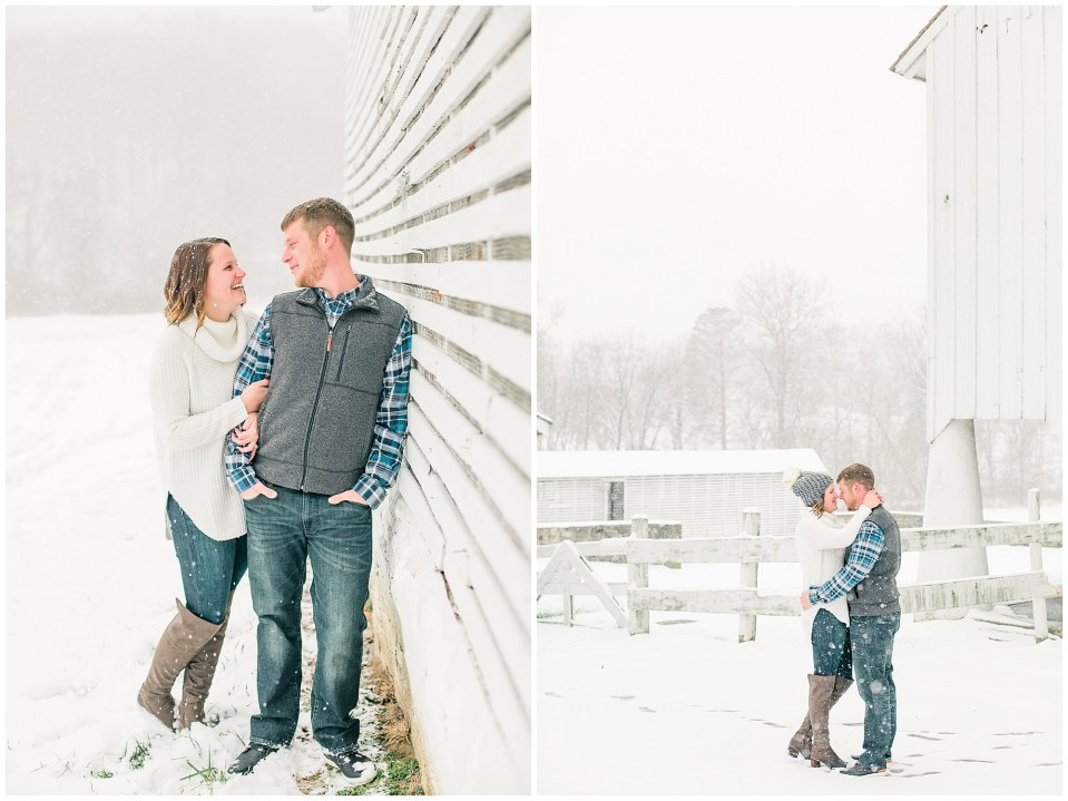 Joseph & Sara's Snow Storm Engagement at Valley Forge National Park in Wayne, PA Photos_0021.jpg