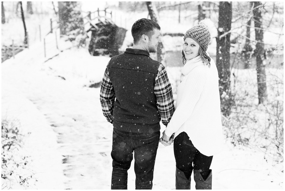 Joseph & Sara's Snow Storm Engagement at Valley Forge National Park in Wayne, PA Photos_0026.jpg