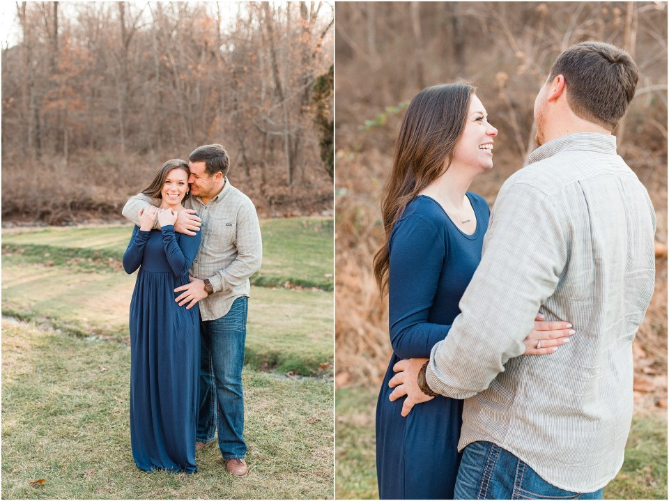 Richie & Kati's Winter Engagement at The Barn On Bridge in Collegeville, PA Photos_0011.jpg