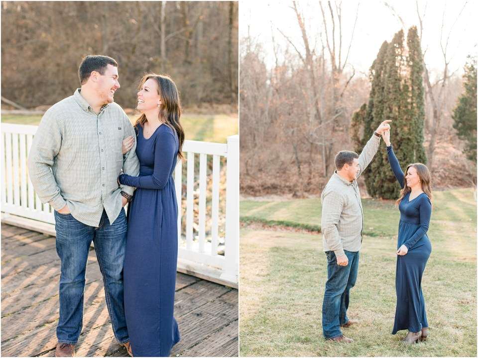 Richie & Kati's Winter Engagement at The Barn On Bridge in Collegeville, PA Photos_0019.jpg