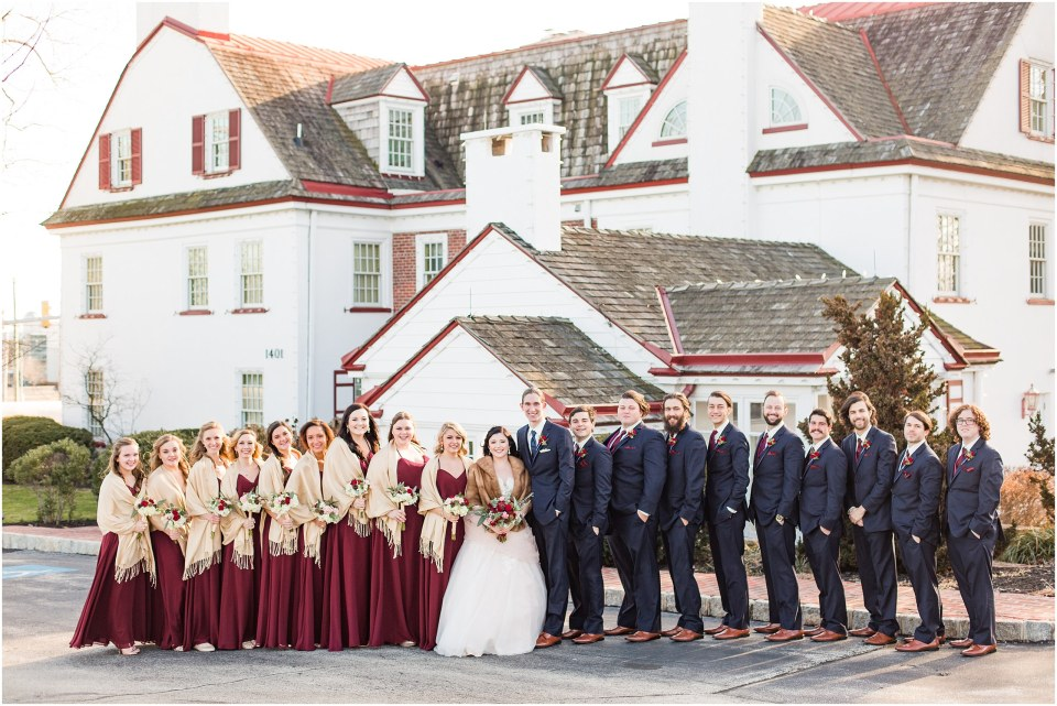 Andy & Sam's Navy & Maroon Winter Wedding at Normandy Farm Hotel & Conference Center in Blue Bell, PA Photos_0033.jpg