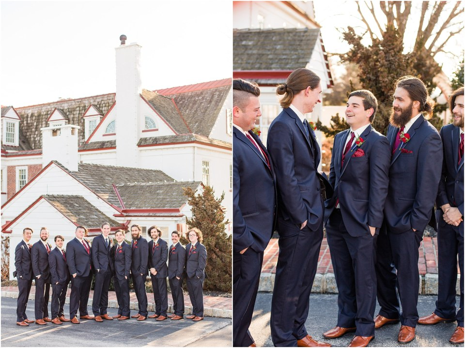 Andy & Sam's Navy & Maroon Winter Wedding at Normandy Farm Hotel & Conference Center in Blue Bell, PA Photos_0038.jpg