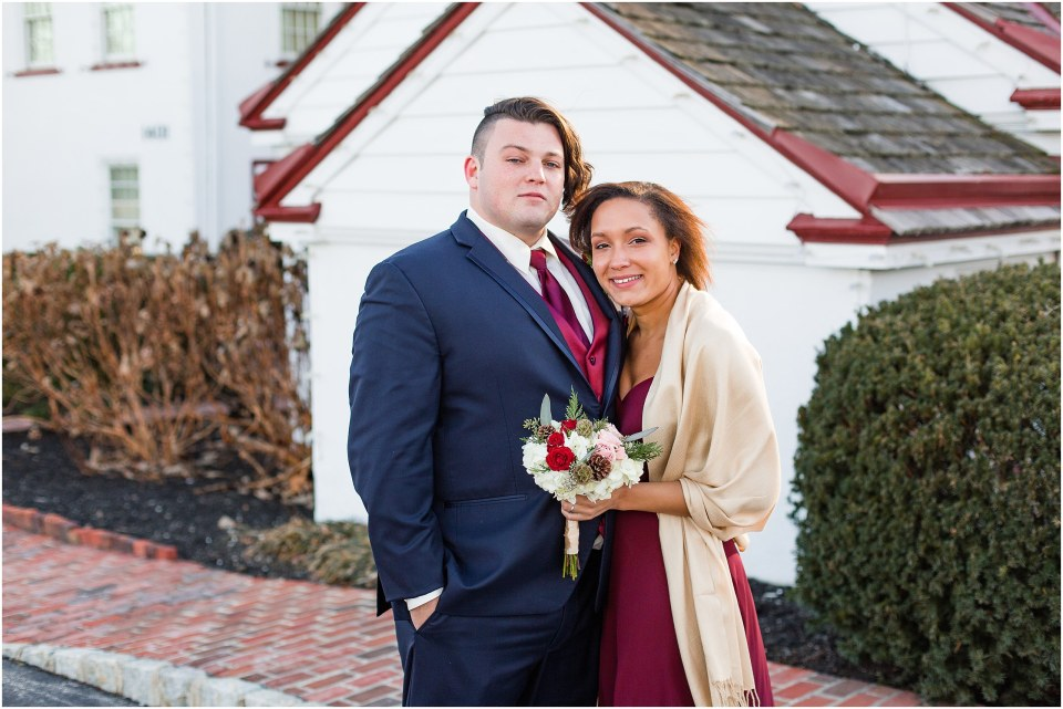 Andy & Sam's Navy & Maroon Winter Wedding at Normandy Farm Hotel & Conference Center in Blue Bell, PA Photos_0046.jpg