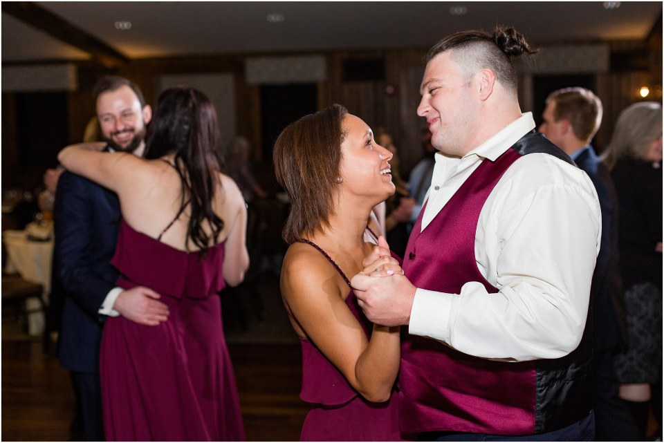 Andy & Sam's Navy & Maroon Winter Wedding at Normandy Farm Hotel & Conference Center in Blue Bell, PA Photos_0082.jpg