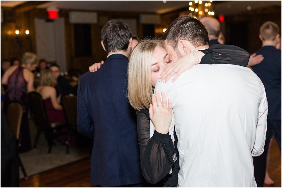 Andy & Sam's Navy & Maroon Winter Wedding at Normandy Farm Hotel & Conference Center in Blue Bell, PA Photos_0084.jpg