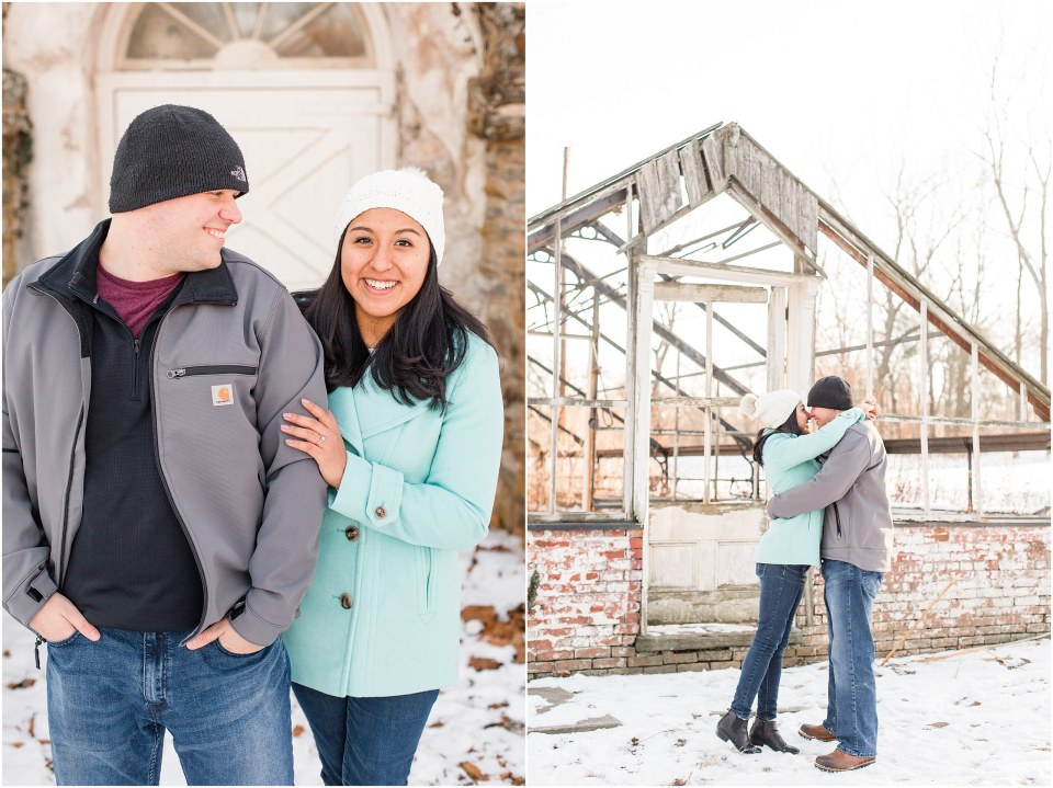 Brad & Mary's Snowy Winter Engagement at Valley Forge Park in Wayne, PA_0003.jpg